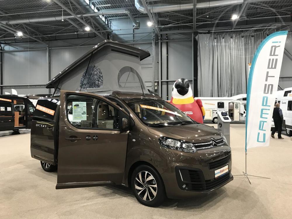 Prodám Citroën Spacetourer Campster, stanová střecha