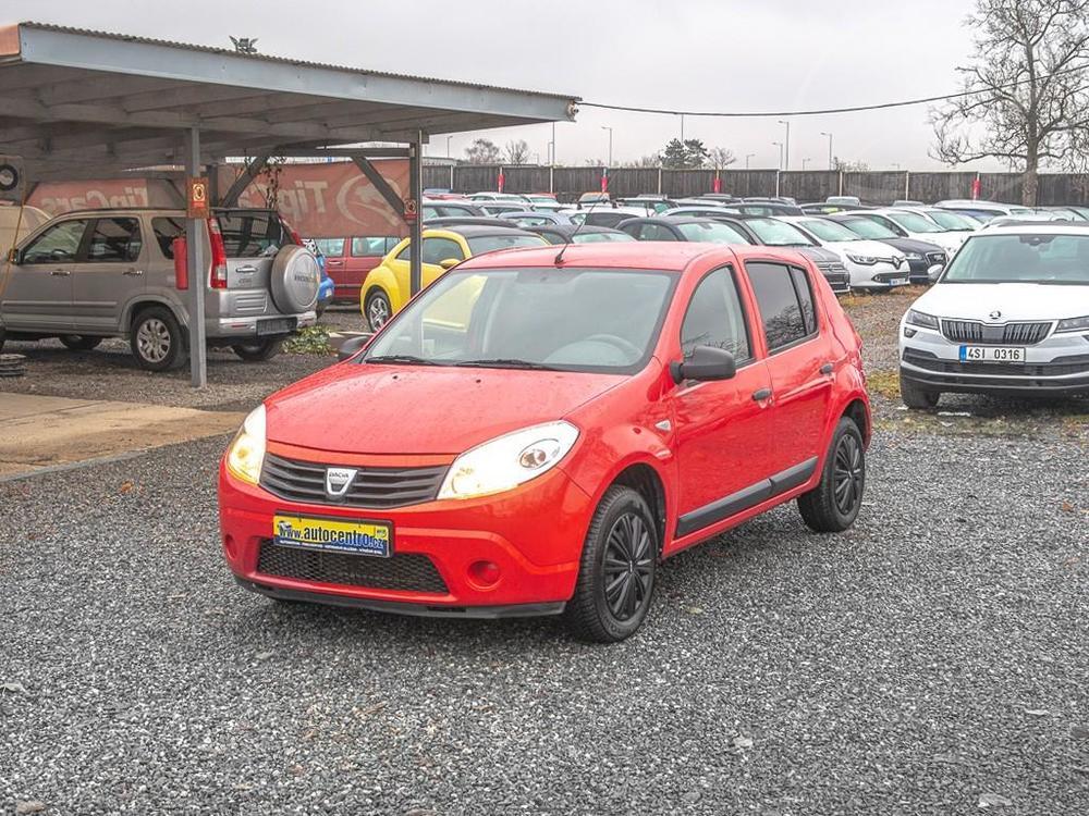 Prodám Dacia Sandero 1.2i 16V – PĚKNÉ PNEU