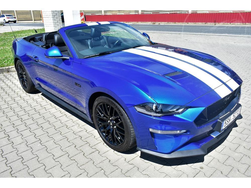 Prodám Ford Mustang V8 5.0GT Conv.Black p.SKLADEM