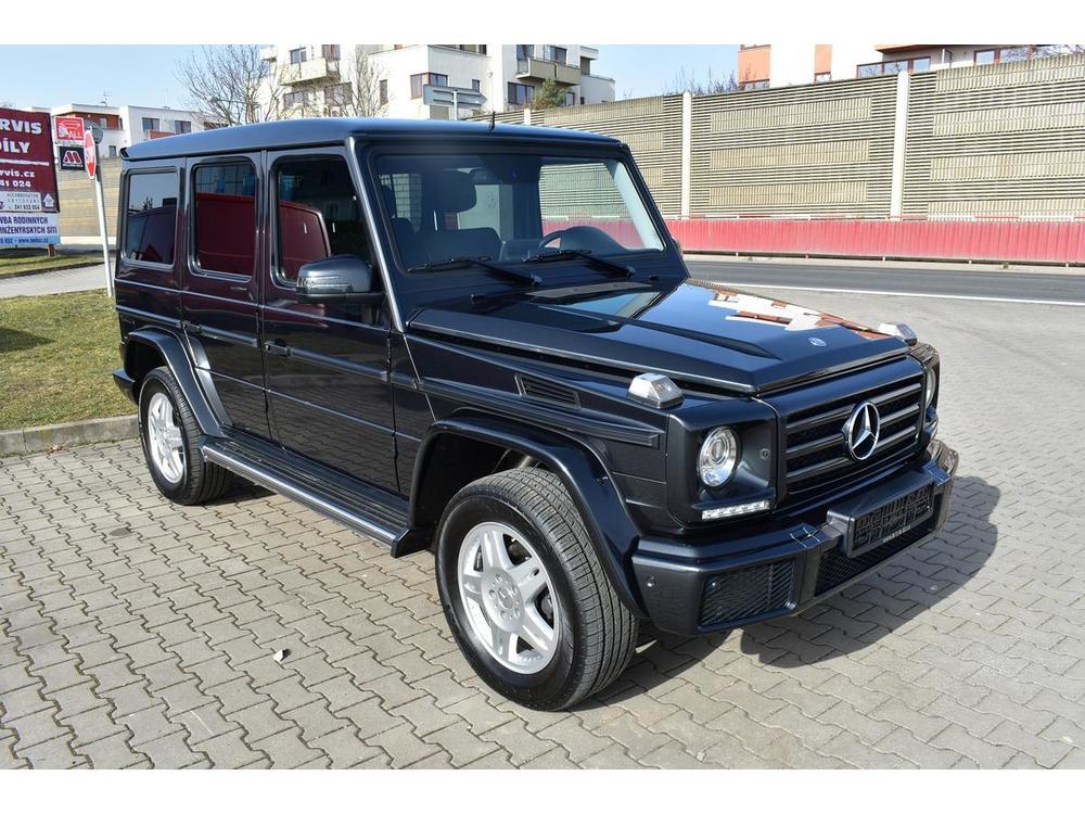 Prodám Mercedes-Benz G 350 d 4M, Topení, Harmann kard.