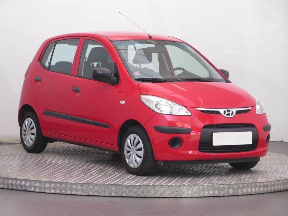Prodám Hyundai i10 1.1 12V, ČR,1.maj, Serv.kniha
