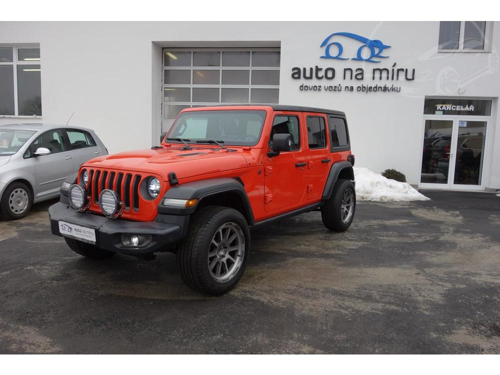 Prodám Jeep Wrangler 2.0T200kw4x4 UNLIMITED RUBICON