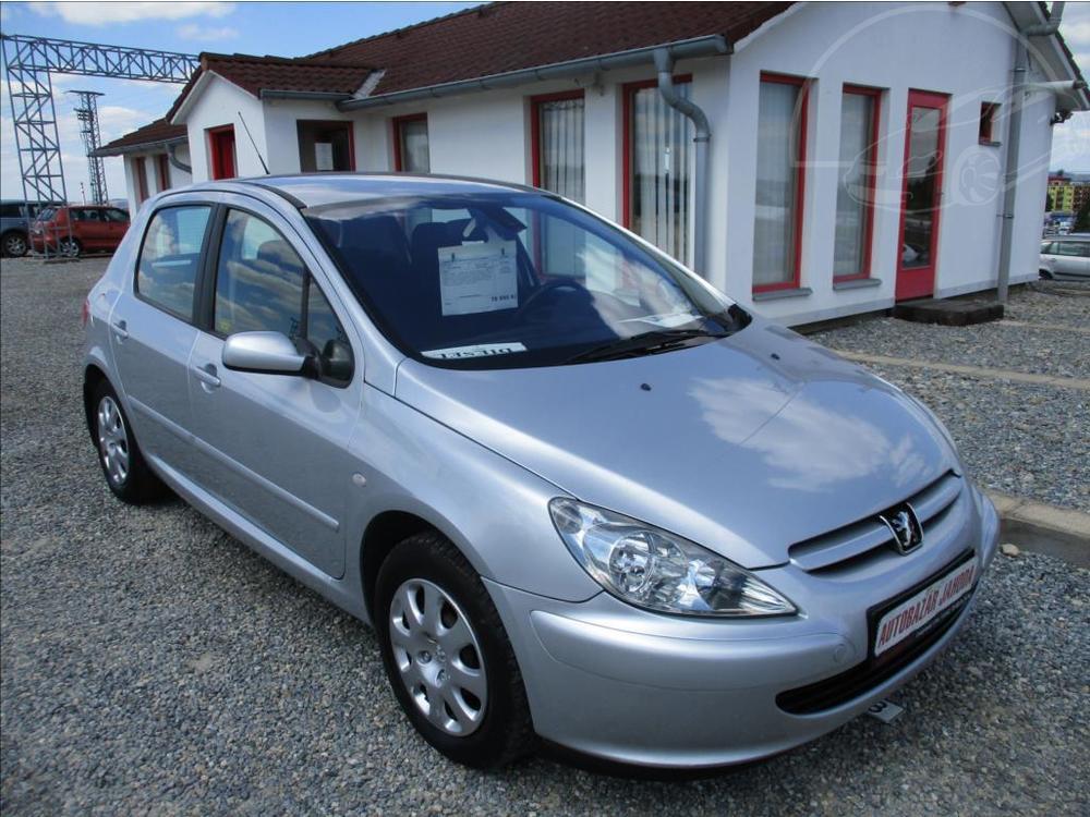 Prodám Peugeot 307 2,0 HDi,klima,s.kniha,CZ,