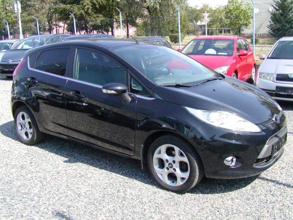 Prodám Ford Fiesta 1.6 TDCi,TITANIUM,TOP STAV!