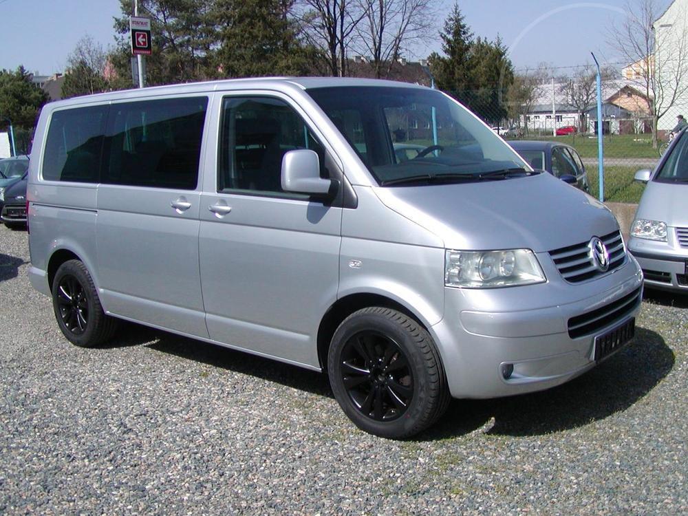 Prodám Volkswagen Multivan 2.5TDi,96kW,KLIMAPAKET,VÝB.ST.