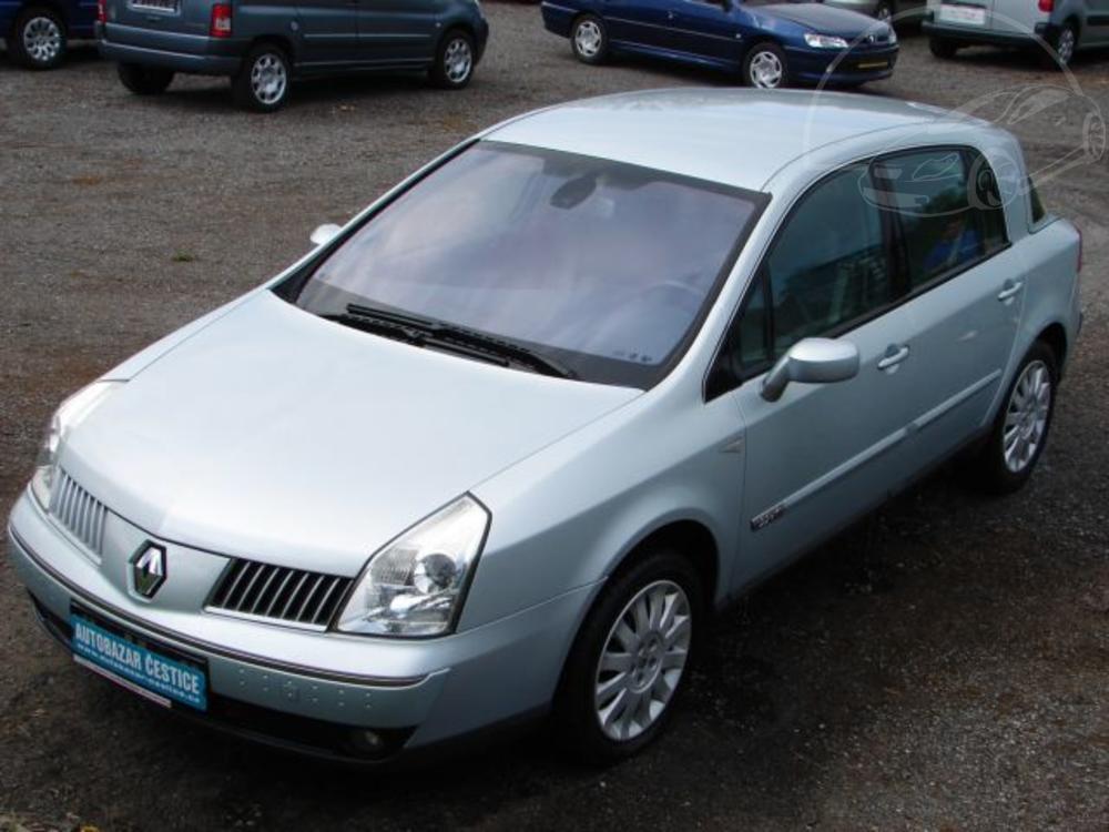 Prodám Renault Vel Satis 2,2 DCI TOP VÝBAVA
