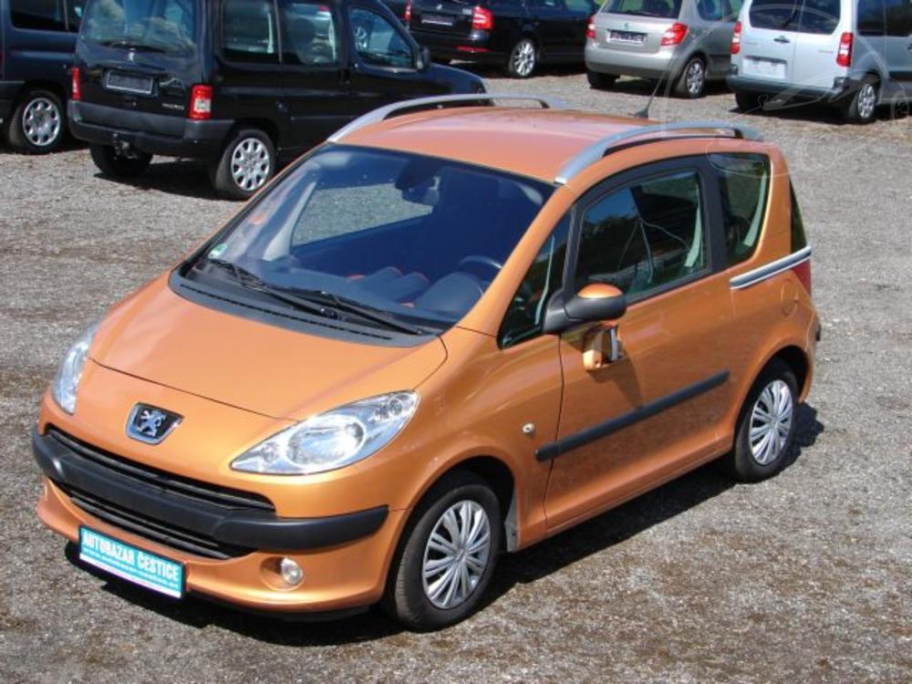 Prodám Peugeot 1007 1.4 Sporty PREMIUM VÝBAVA