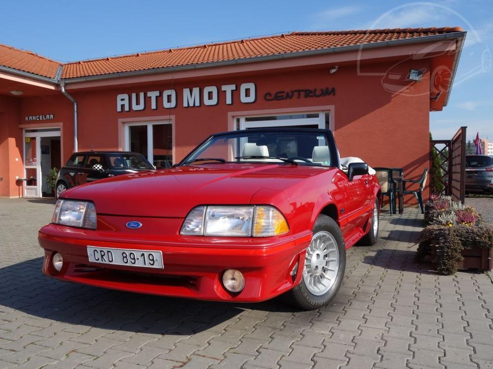 Prodám Ford Mustang 5.0 V8 GT Convertible