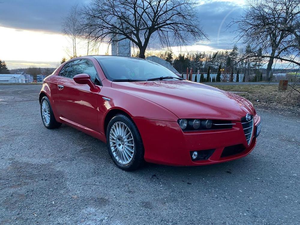Alfa Romeo Brera 2.4 JTD 210, 154kW, Panorama