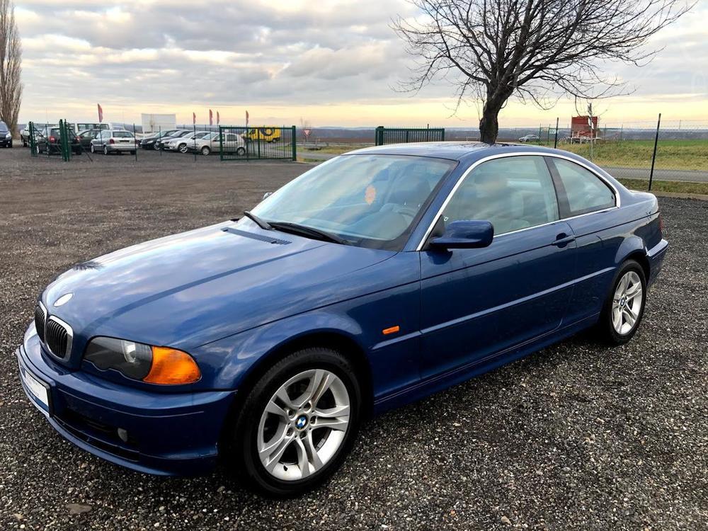 Prodám BMW 323 Ci 125KW COUPÉ MANUÁL KŮŽE