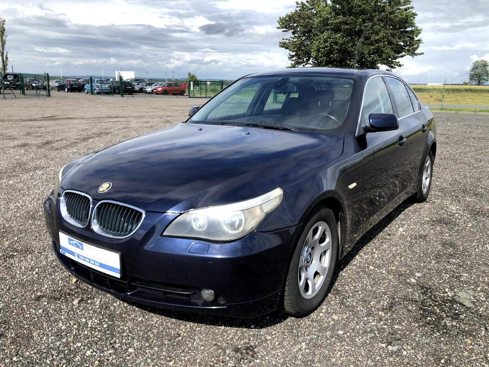 Prodám BMW 525 i 141KW MANUÁL KŮŽE ALU