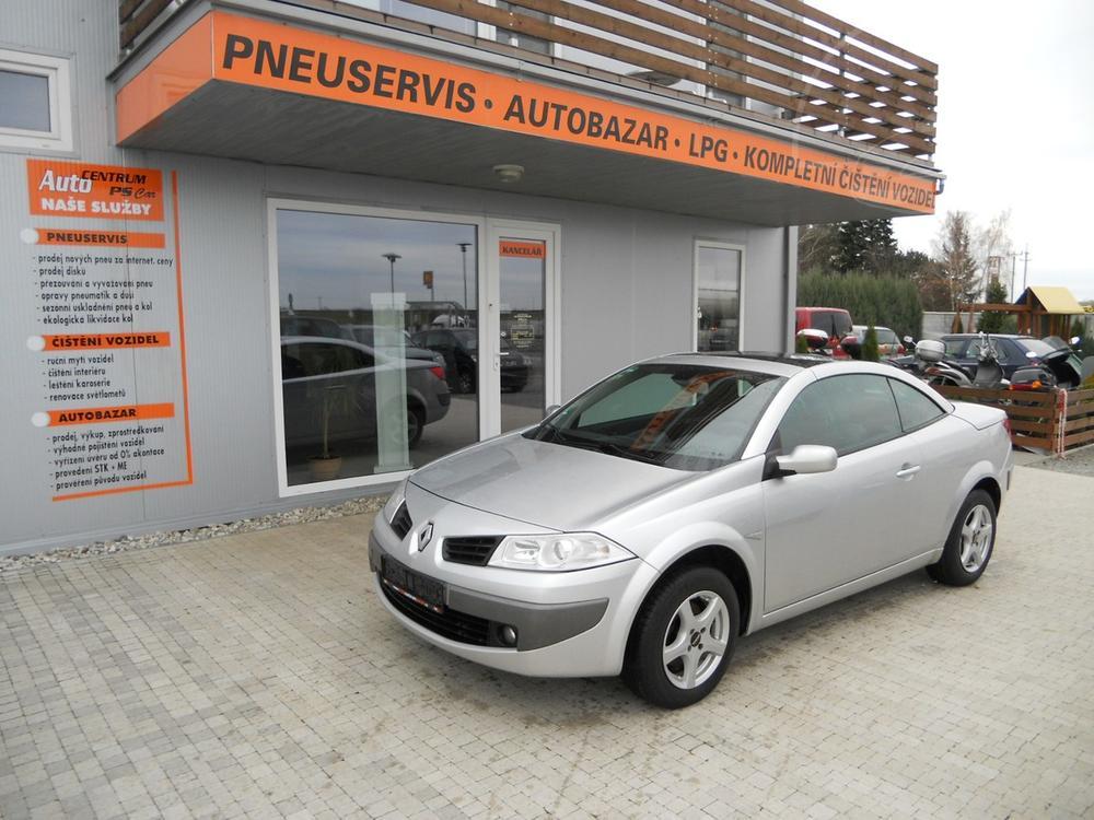 Prodám Renault Megane CABRIO 1,6 16V KLIMA, SERVISKA