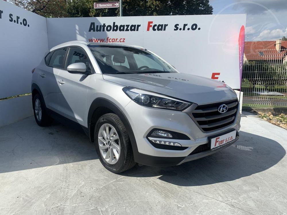 Prodám Hyundai Tucson 1,6 T-GDI, 4x4, ser.kížka