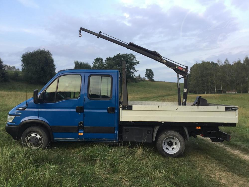 Iveco Daily 35C14 7mist , Hyd.ruka 1t