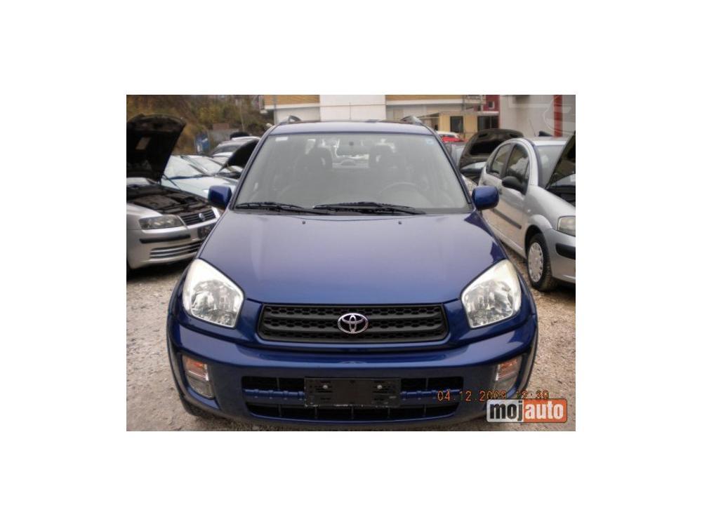 Prodám Toyota RAV4 2.0b plin