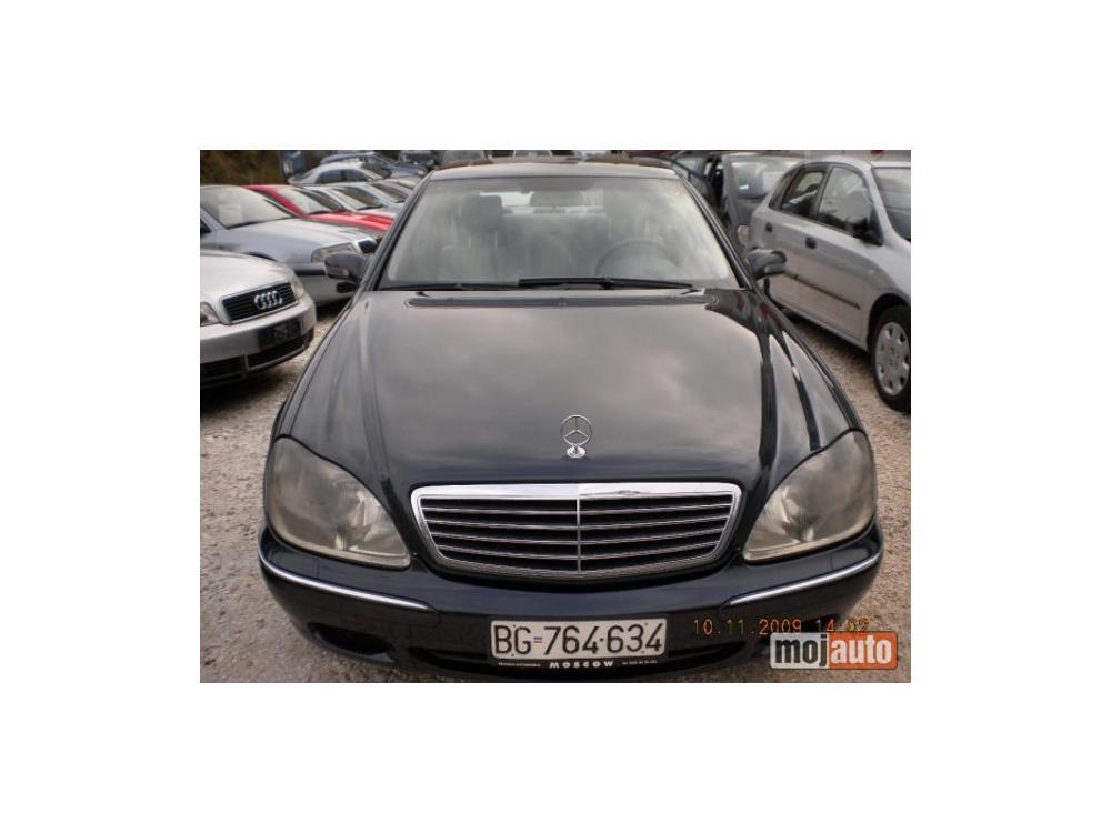 Prodám Mercedes-Benz S 320 cdi