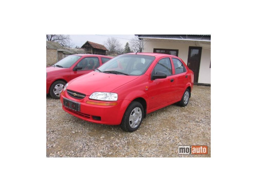 Prodám Chevrolet Kalos 1,4