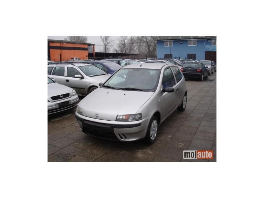 Prodám Fiat Punto 1.9 JTD 86KS