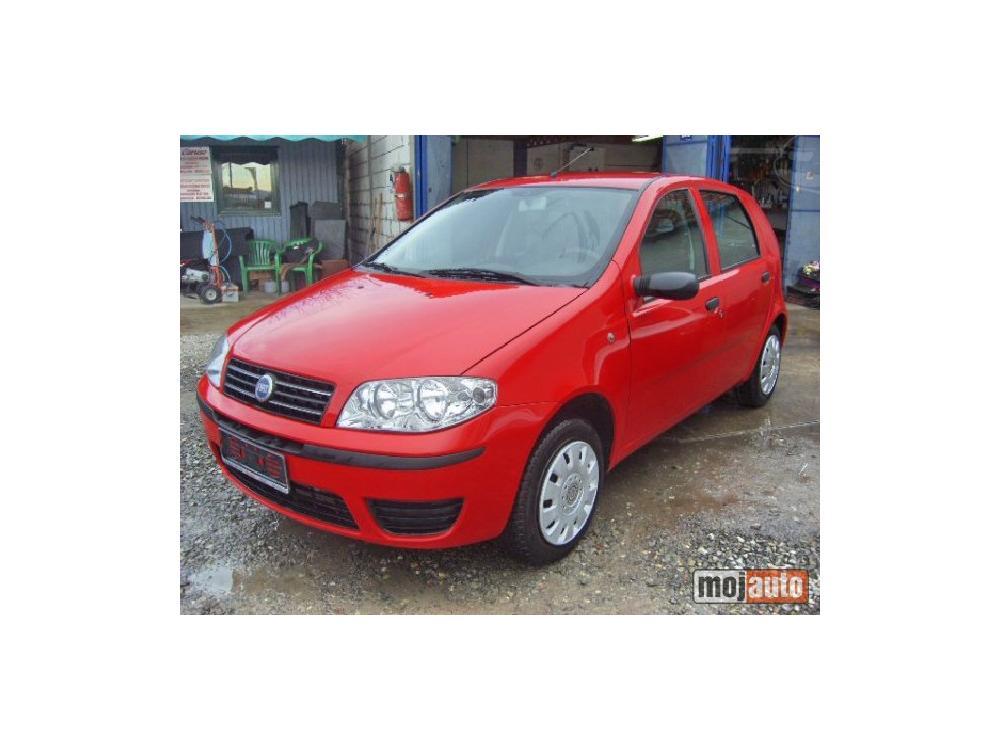 Prodám Fiat Punto 1.2 8V