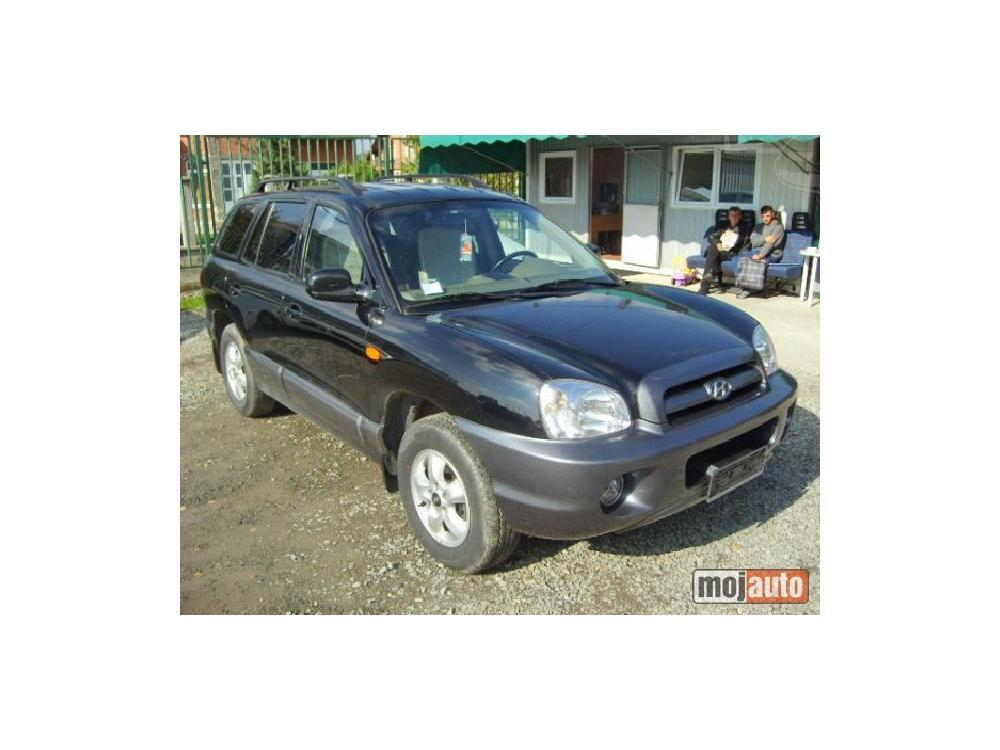 Prodám Hyundai Santa Fe 2.7 V6 4WD PLIN
