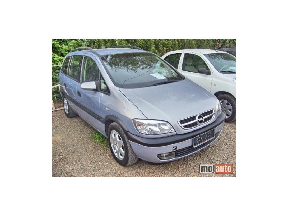 Prodám Opel Zafira 1.6 8V