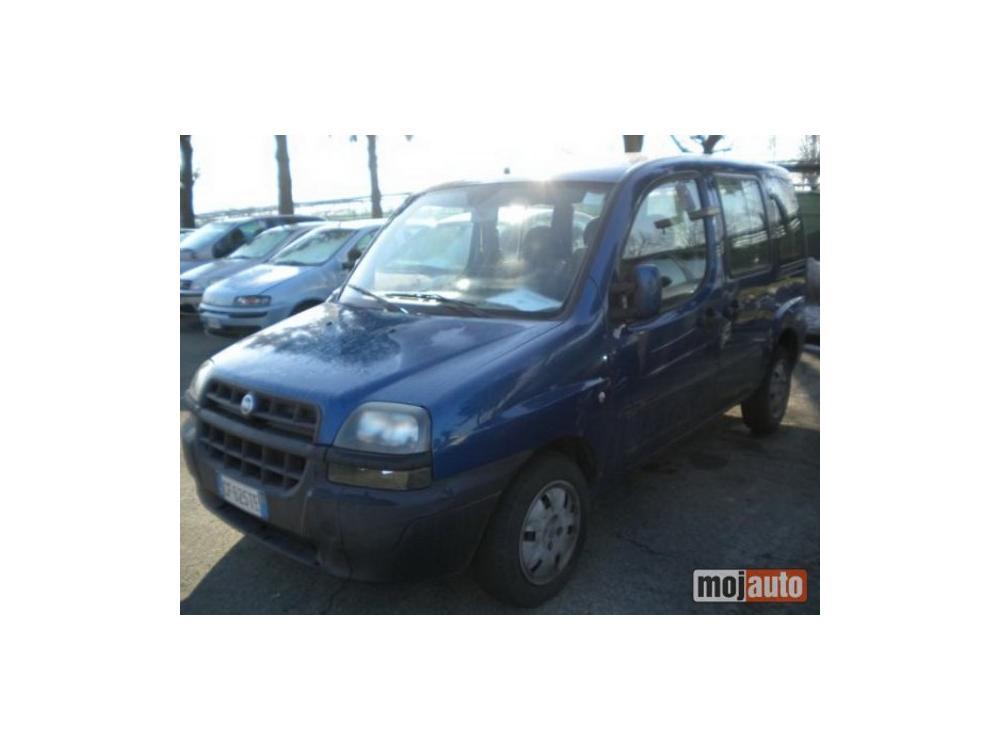 Prodám Fiat Doblo 1.9 jtd