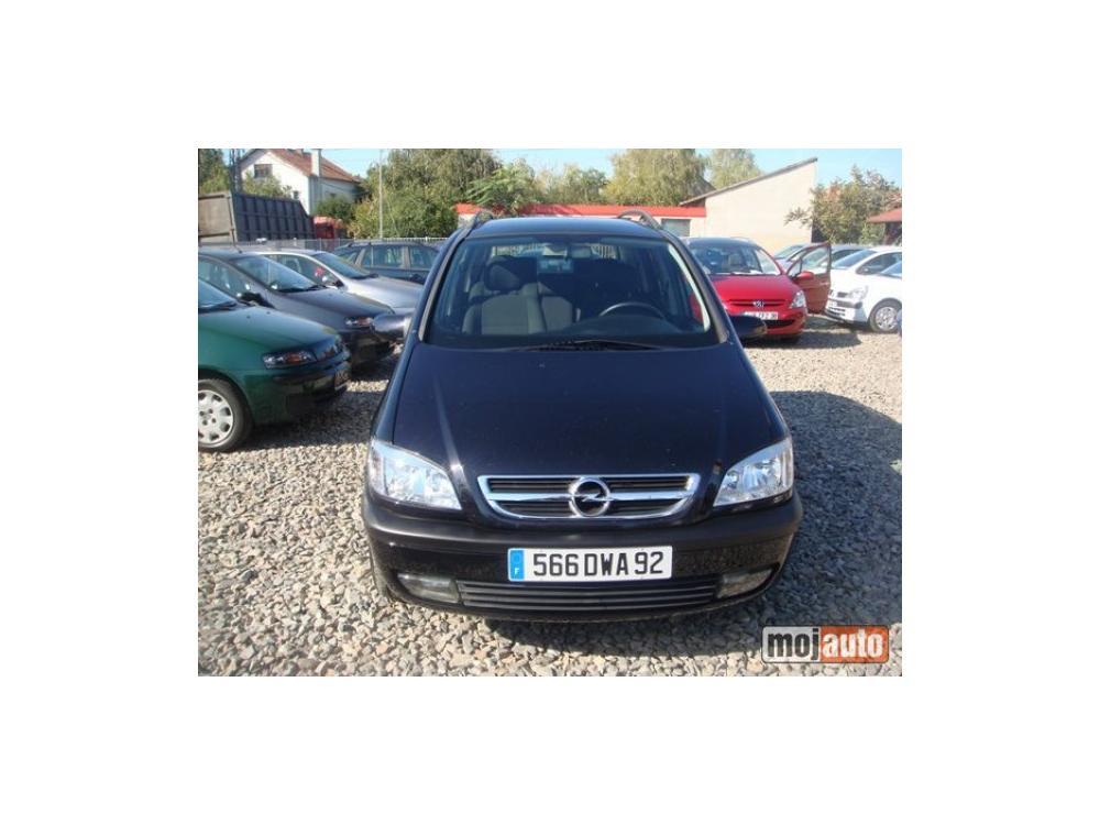 Prodám Opel Zafira 2.0 DTI