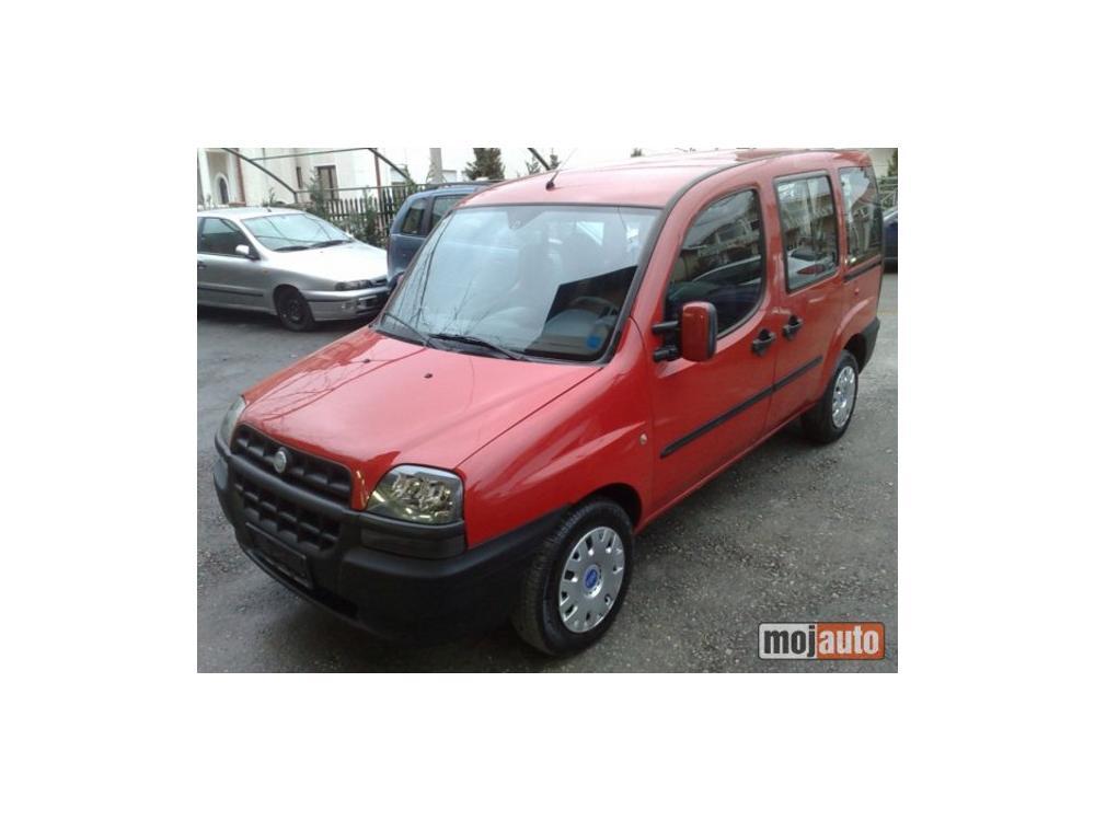 Prodám Fiat Doblo 1.2 8v