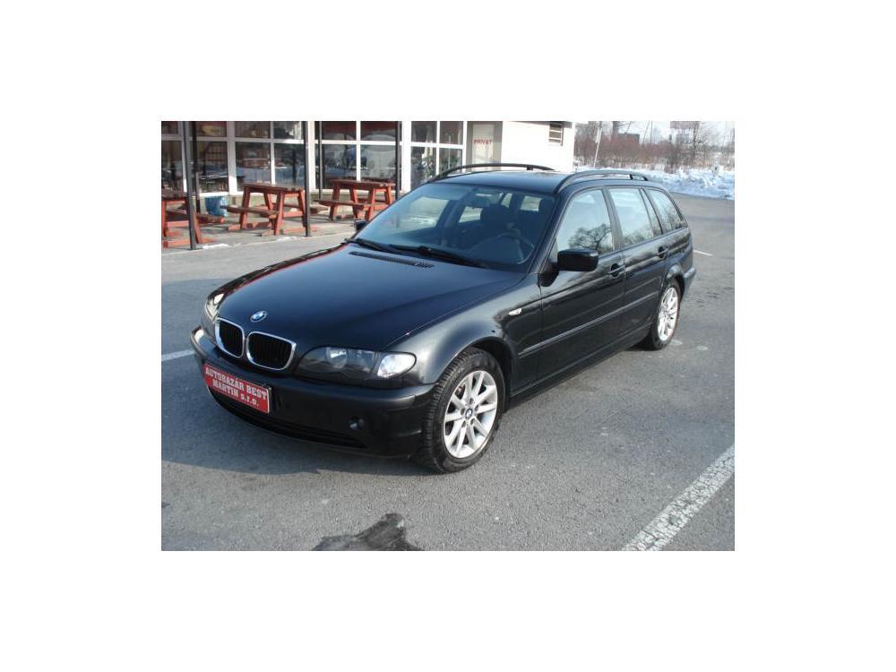 Prodám BMW 318 E46 LPG