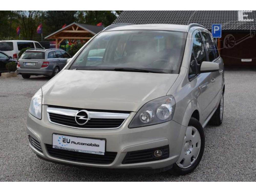 Prod�m Opel Zafira 1.6i 16V CNG Z�RUKA 1 ROK