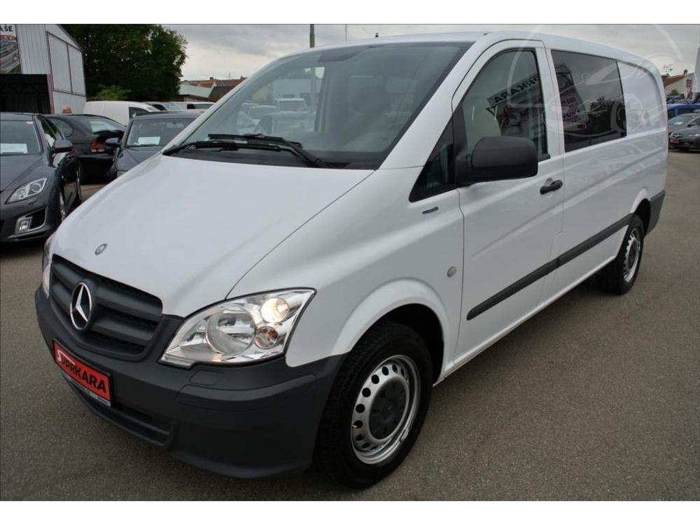 Prodám Mercedes-Benz Vito 116 CDi L 5-MÍST*KLIMA NEZ.TOPENÍ*TEMPOMAT*PLNÁ 2.