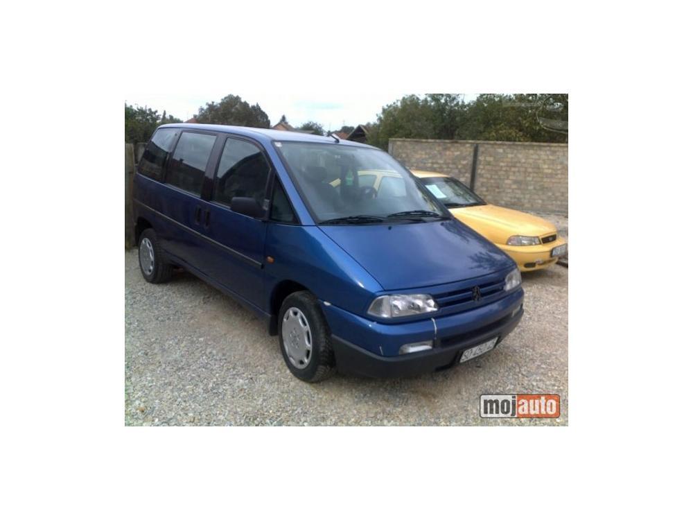 Prodám Peugeot 806 2.0