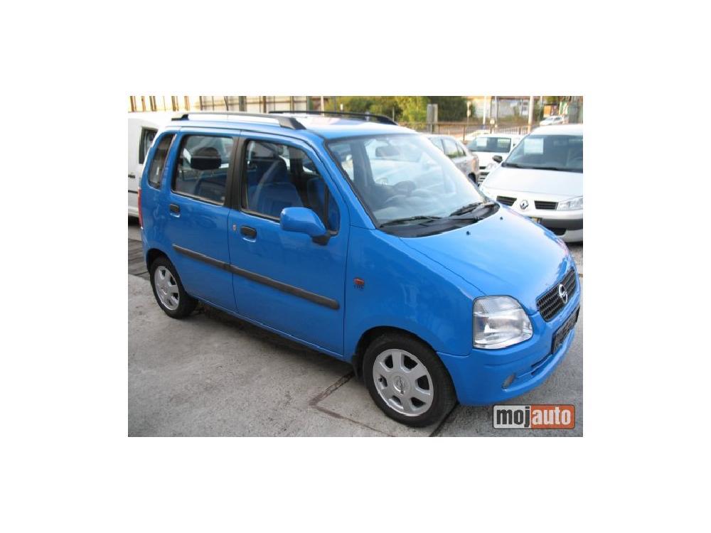 Prodám Opel Agila 1.2 16V