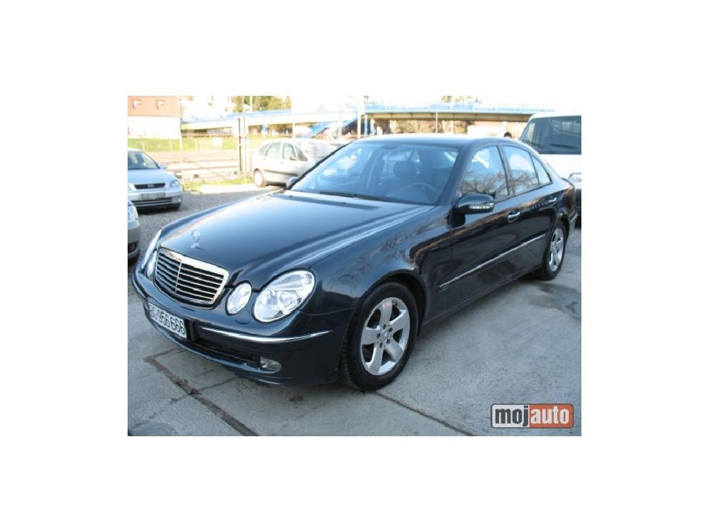 Prodám Mercedes-Benz E 270 CDI  AVANTGARDE