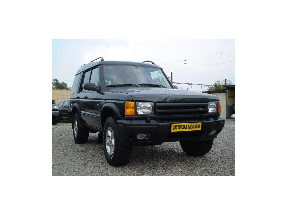 Prodám Land Rover Discovery 2.5 TD5