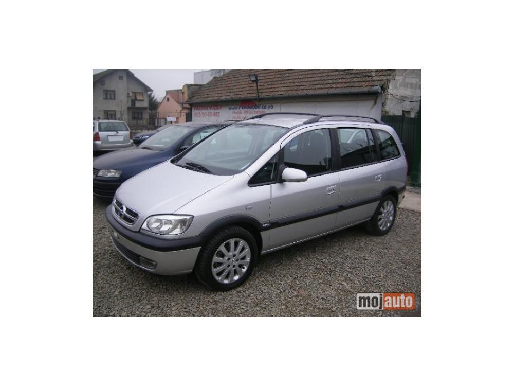 Prodám Opel Zafira 2.0 DTI RESTAJL