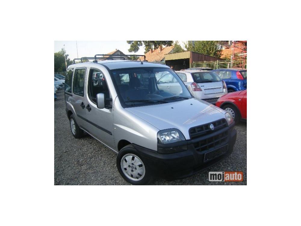 Prodám Fiat Dobló 1.9 JTD