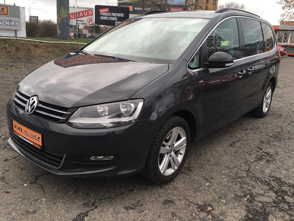 Prodám Volkswagen Sharan 2,0TDi 125kW MATCH 6MÍST