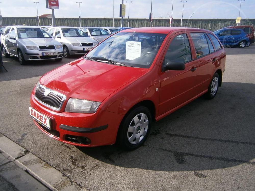 Prodám Škoda Fabia Combi 1.4 TDI