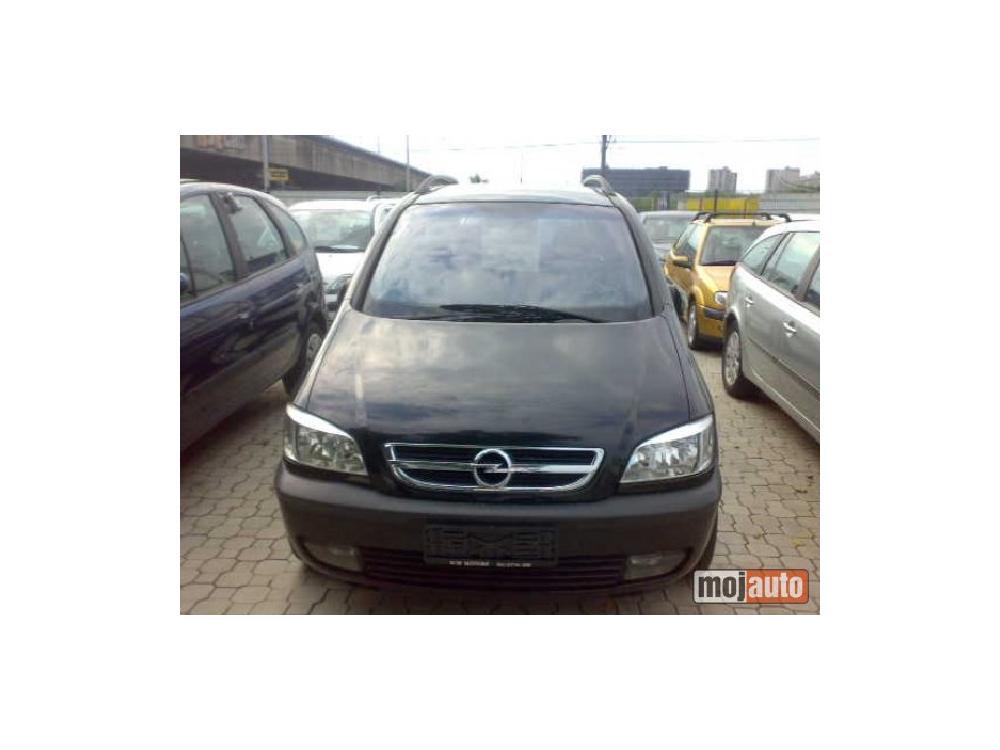 Prodám Opel Zafira 2,2 DTI