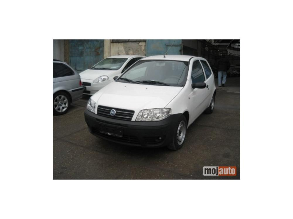 Prodám Fiat Punto 1.3 mj  VAN