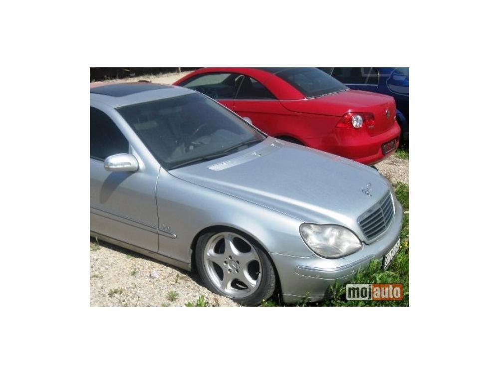 Prodám Mercedes-Benz S 400 CDI L