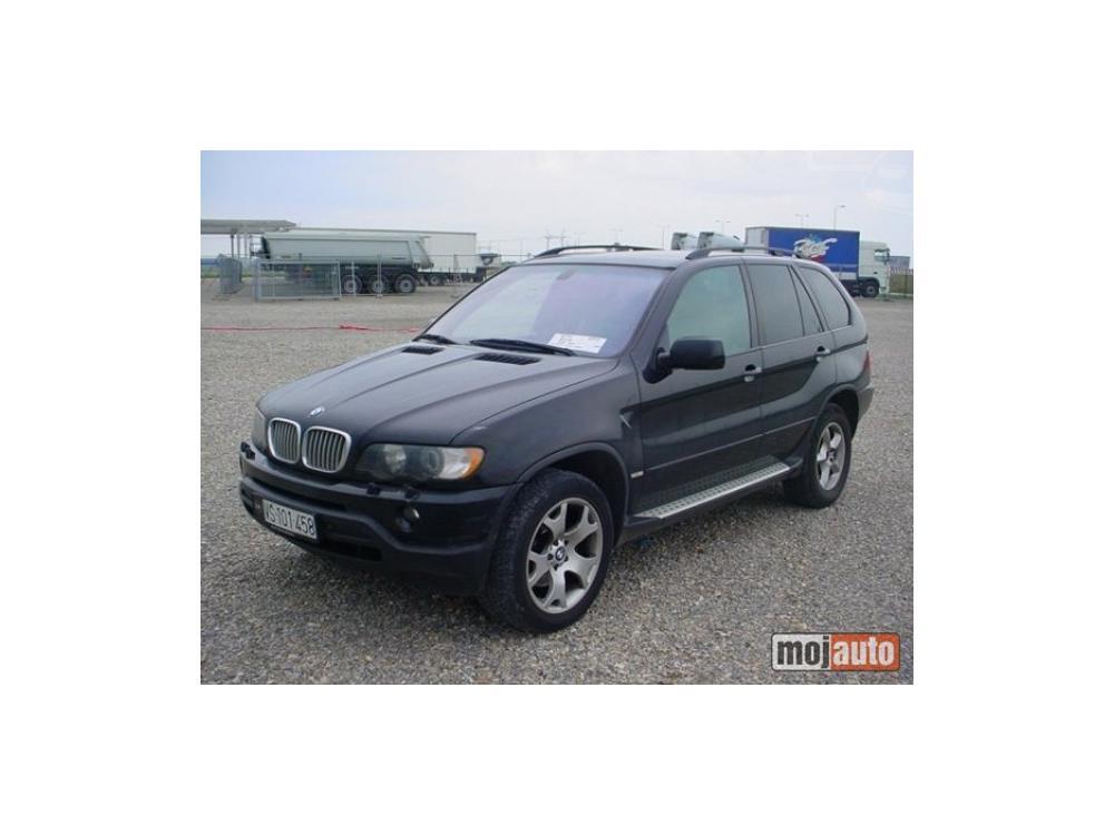 Prodám BMW X5 4.4L