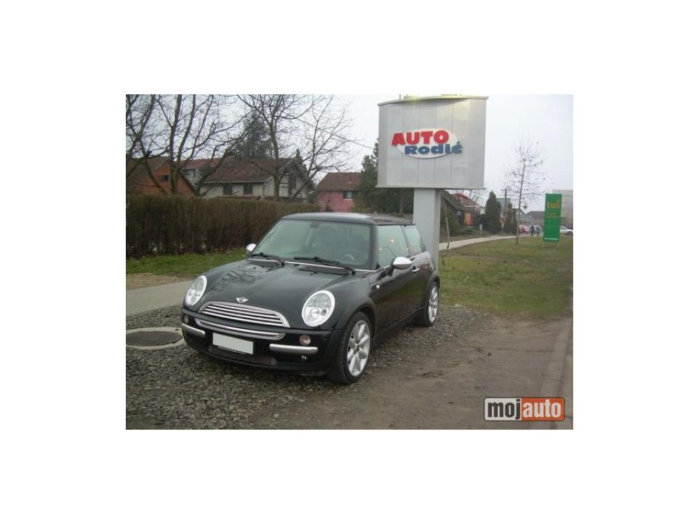 Prodám Mini Cooper 1.6 16v