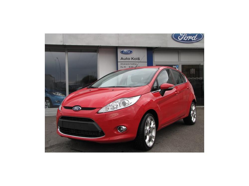 Prodám Ford Fiesta 1.25 Titanium