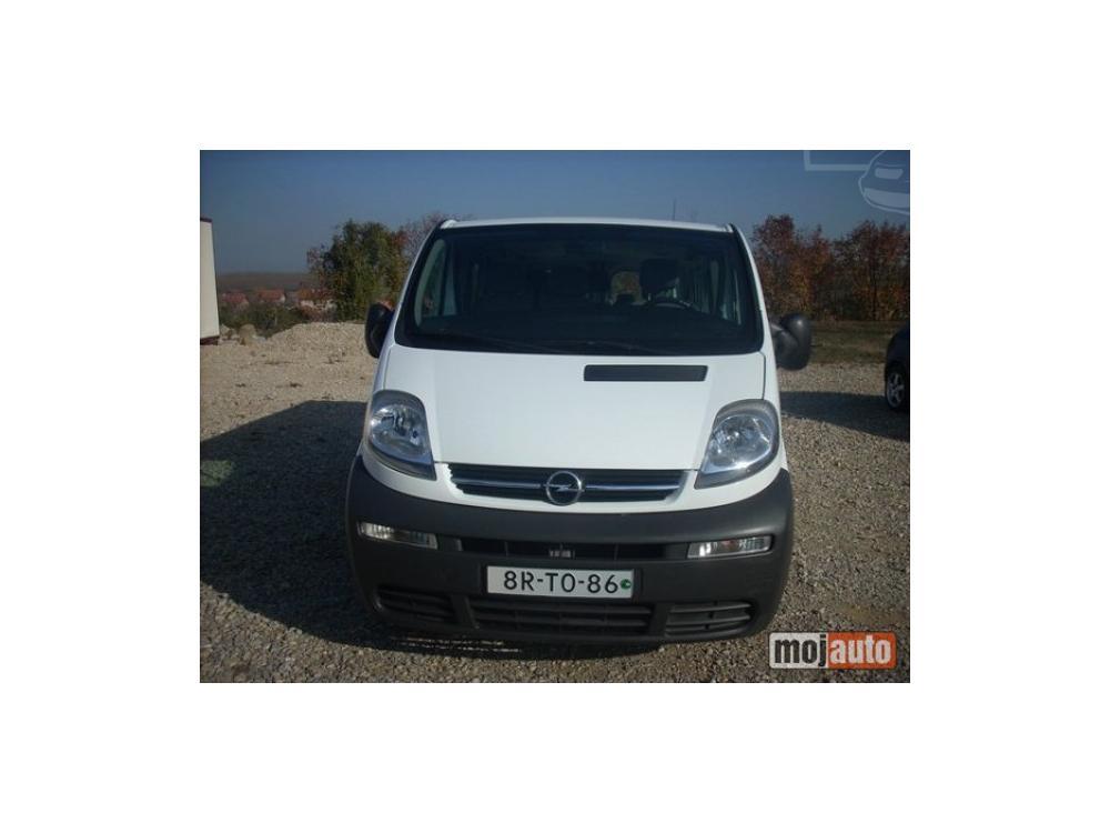 Prodám Opel Vivaro 1,9 CDTI