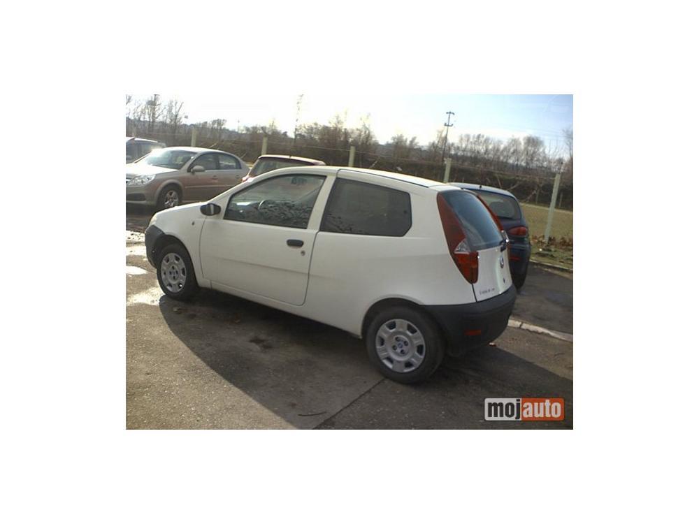 Prodám Fiat Punto 1.9 JTD VAN