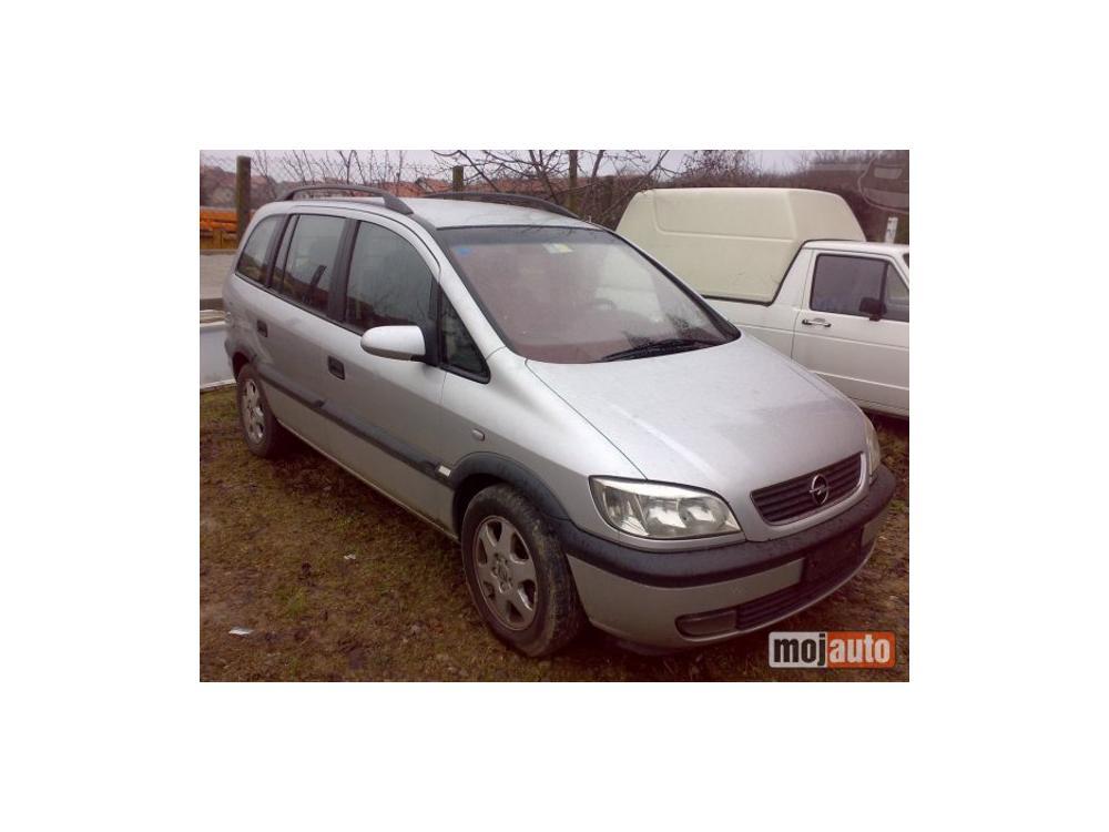 Prodám Opel Zafira 2.0DTI elegance