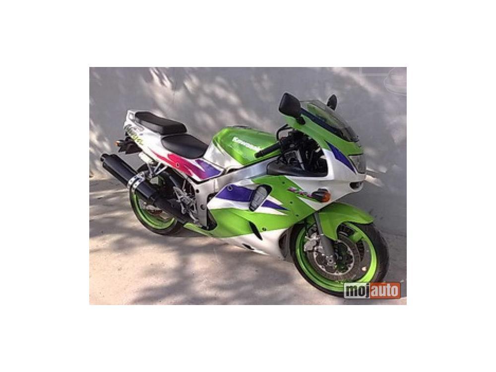 Prodám Kawasaki ZX 6r