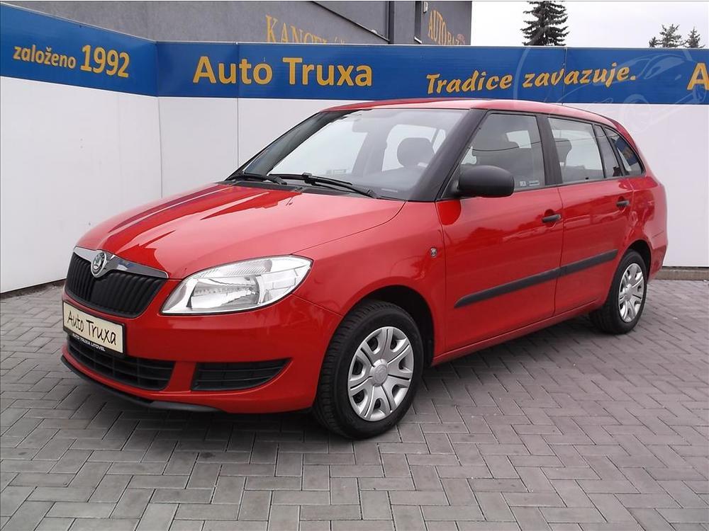 Prodám Škoda Fabia Combi II 1.6 TDi ACTIVE 1.maj.